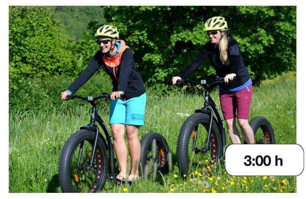 Maastopyöräily tai kickbike-retki
