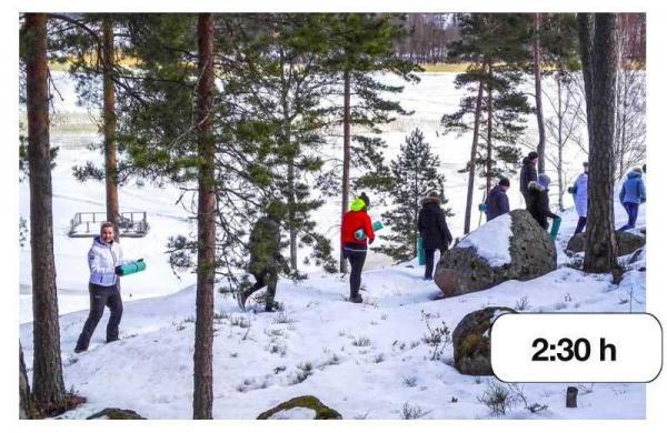 Lumikenkäkävely