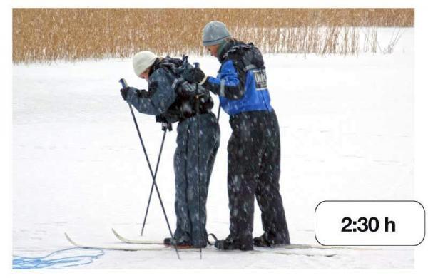 Talvirieha – Oletko etelän paras poromies tai jääteiden rallikuski?