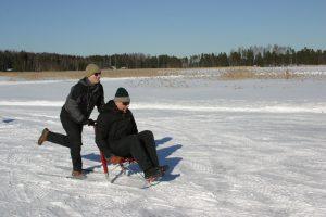 Missä järjestää virkistyspäivä talvella?